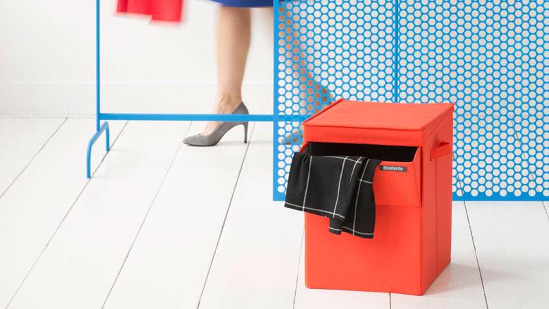 stapelbare wasbox van brabantia. Black Bedroom Furniture Sets. Home Design Ideas