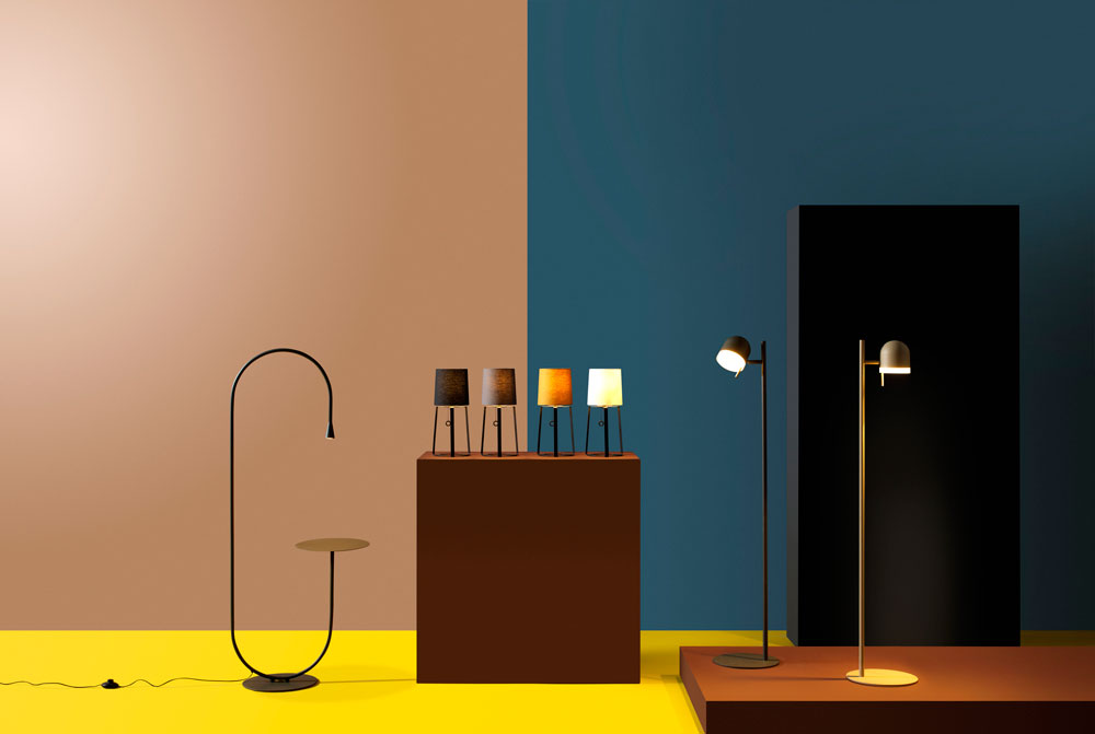 Lighting collection by Michael Raasch for Pode