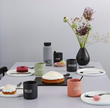 Danish Design Letters - Favorite Cups