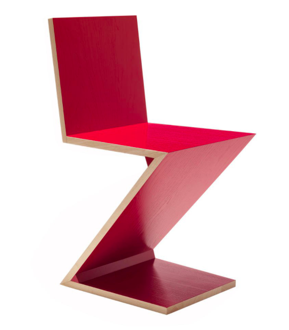 Zigzag Chair - Gerrit Rietveld - 1932