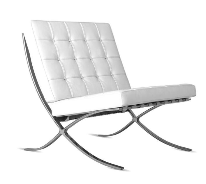 Barcelona Chair - Ludwig Mies van der Rohe - 1929