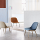Fiber Lounge Chair - Iskos+Berlin -Muuto