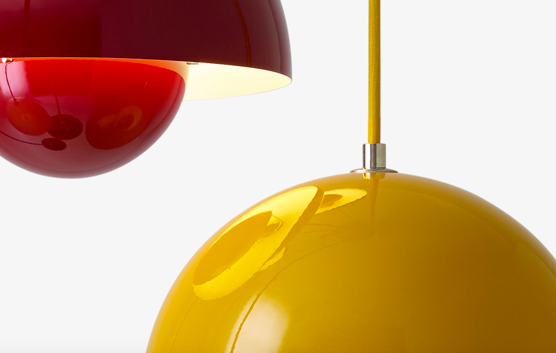 Flowerpot lamp - Verner Panton - Tradition