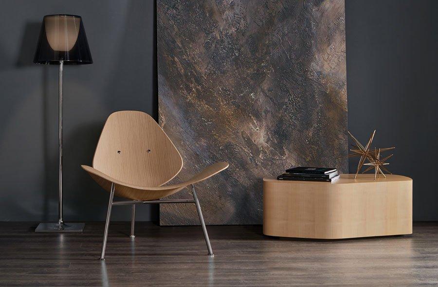 BERNHARDT DESIGN Pedersen lounge chair
