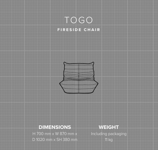 Togo Chair - Michel Ducaroy - Ligne Roset
